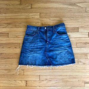 Madewell Classic Denim Skirt
